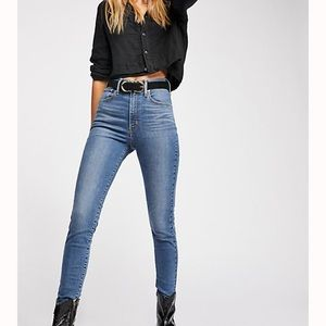 Levi's Mile high Ankle Super Skinny Jeans